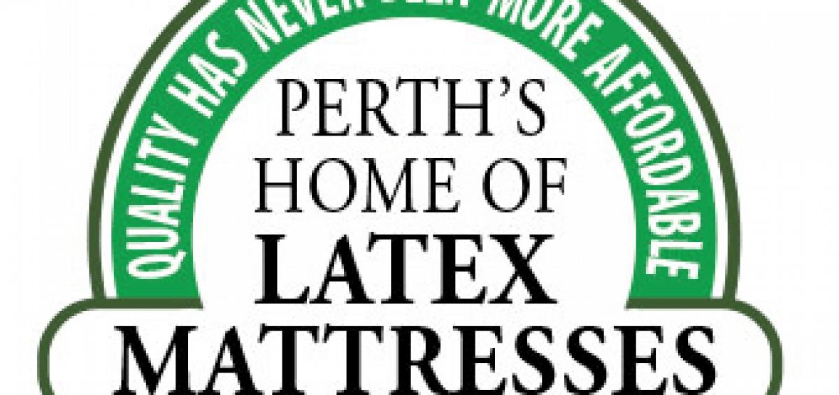 Perth home of latex logo