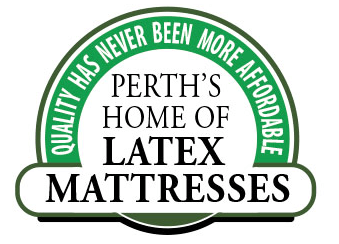 Perth home of latex logo