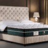 Luxury King Bed Base by GETHA available at The Back and Neck Bed Shop