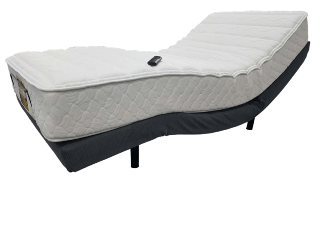 Ilumi 3000 Wireless Remote Adjustable Bed available at The Back and Neck Bed Shop