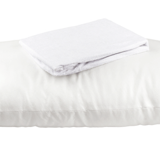 Shop Waterproof Pillow Protector by EcoGuard available at The Back and Neck Bed Shop in Perth, Australia