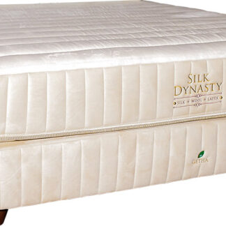 King & Queen Silk Dynasty by GETHÁ available at The Back and Neck Bed Shop