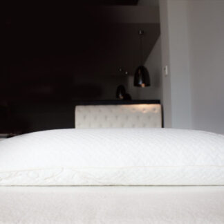 SpineAlign Latex Traditional Pillows available at The Back and Neck Bed Shop
