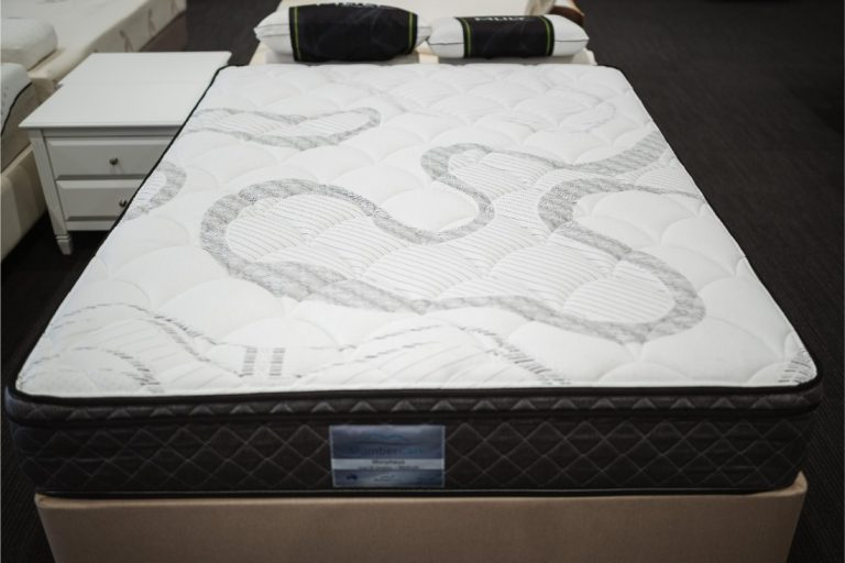 Birdseye of the Slumbercare Morpheus Medium Mattress available online and in-store at The Back and Neck Bed Shop