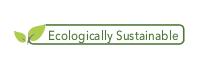 Ecologically Sustainable logo