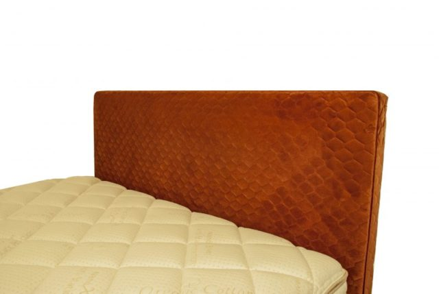 Headboard in Warwick Essence Copper by Lounge Innovations available online and in-store at The Back and Neck Bed Shop