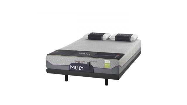 Wisteria Medium Mattress by MLily available online and in-store at The Back and Neck Bed Shop