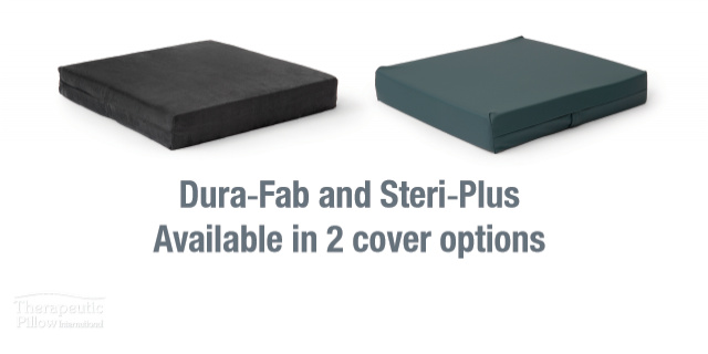 Diffuser Memory Foam Cushion cover options available online and in-store at The Back and Neck Bed Shop