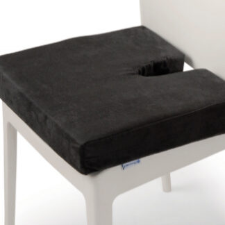 Diffuser Coccyx Cushion (memory foam) available online and in-store at The Back and Neck Bed Shop
