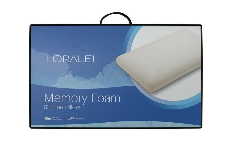 Loralei Memory Foam Slimline Pillow
