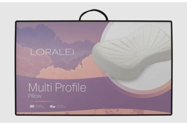 Loralei Multi Profile Contoured Pillow