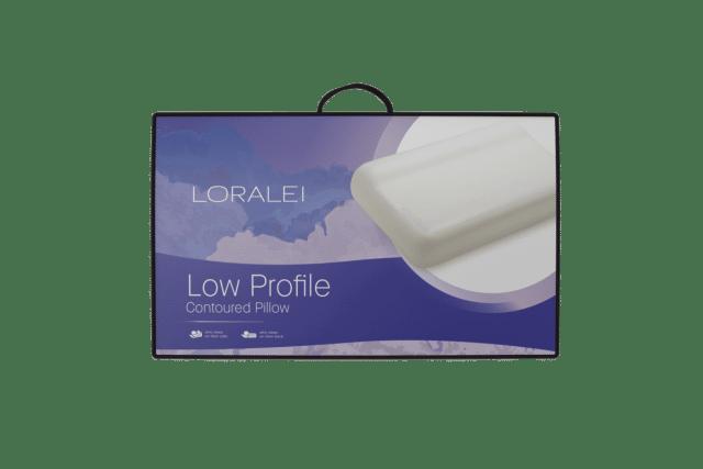 Loralei Low Profile Contoured Pillow