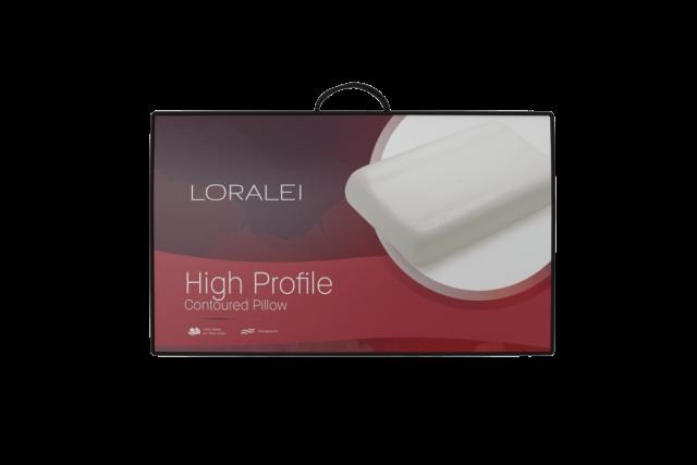 Loralei High Profile Contoured Pillow
