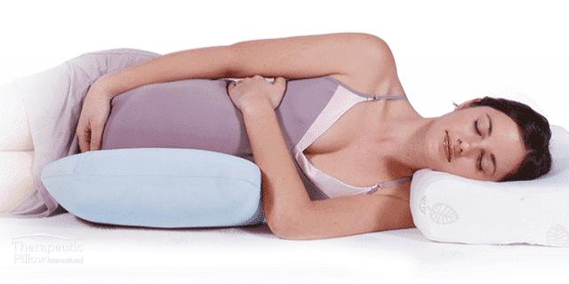 tummy snuggler body pillow for pregnancy